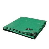 Trademark 12X20 Green / Black Heavy Duty Tarp Tarpaulin Canopy Tent, Boat. RV or Pool Cover