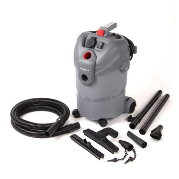 Honeywell 5.5-Gallon Wet Dry Vacuum (HWP5560S), Grey