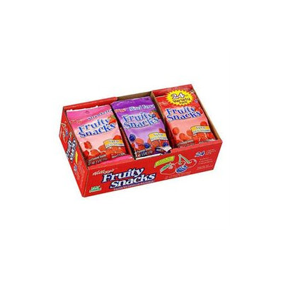 Kellogg's Fruity Snacks Variety Pack - 24 ct.