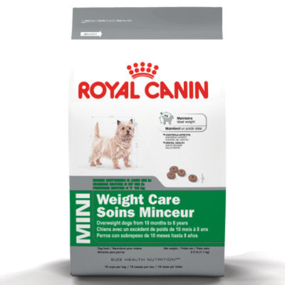 Royal CaninA MINI Weight Care 28TM Adult Dog Food