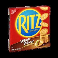Nabisco Ritz Whole Wheat Crackers