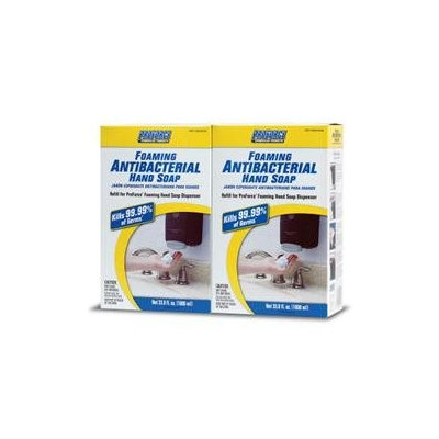 ProForce Commercial Foaming Antibacterial Hand Soap - 2 - 33.8 fl. oz.