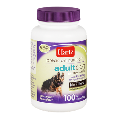 Hartz Precision Nutrition Adult Dog Multivitamins With Prebiotics No Filers - 100 CT