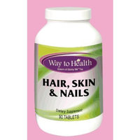 Way to Health HAIR, SKIN & NAILS 90 Tablets