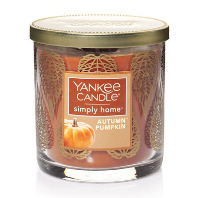 Yankee Candle simply home Autumn Pumpkin 7-oz. Jar Candle, Orange