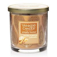 Yankee Candle simply home Salted Pumpkin Caramel Decor 7-oz. Jar Candle, Orange