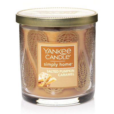 Yankee Candle simply home Salted Pumpkin Caramel Decor 7-oz. Jar Candle, Orange