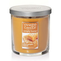 Yankee Candle simply home Salted Pumpkin Caramel 7-oz. Jar Candle, Lt Brown