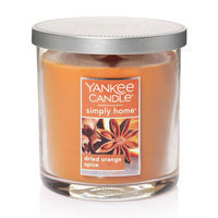 Yankee Candle simply home Dried Orange Spice 7-oz. Jar Candle, Med Orange
