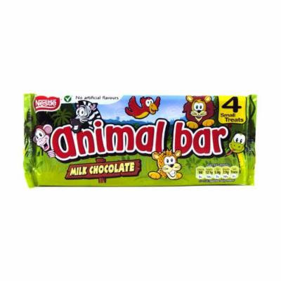 Nestlé Chocolate Animal Bars 4 Pack 76g