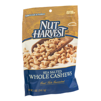 Nut Harvest Whole Cashews Sea Salted