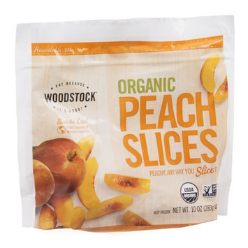 Woodstock Peach Slices Organic