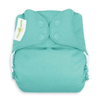 bum Genius Cloth Diaper with Snap Closure in Mirror