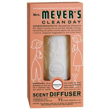 Mrs. Meyer's Clean Day Geranium Scent Diffuser