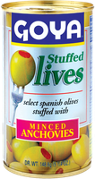 Goya Olives Stuffed with Minced Anchovies