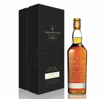 Lagavulin 25 Years Old Islay Single Malt Scotch Whisky