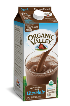 Organic Valley® Reduced Fat 2% Chocolate Milk, Half Gallon