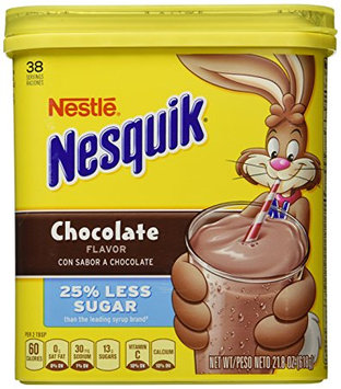 Nesquik® 25% Less Sugar Chocolate Flavor Powder