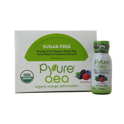 Pyure OEO Energy Shots Mixed Berry