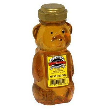 Dutch Gold Honey Honey Clover Bears 12 oz. (Pack of 12)