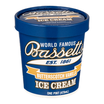 Bassetts Ice Cream Butterscotch Vanilla