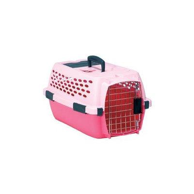 Petmate Copolymer Plastic/Steel Lifestyle Kennel Cab, Medium, Lady Pink/Dark Pink