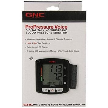 GNC GF-0002 Digital Talking Blood Pressure Monitor, Black