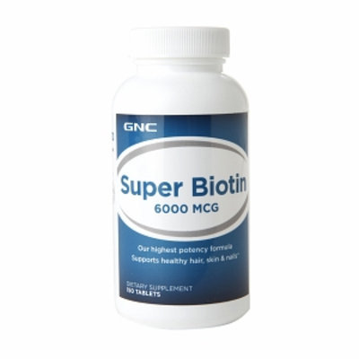 GNC Super Biotin 6000mcg, Tablets, 150 ea