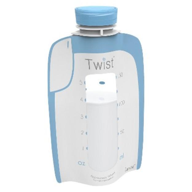 Kiinde 20ct Twist Breastmilk Storage Pouch