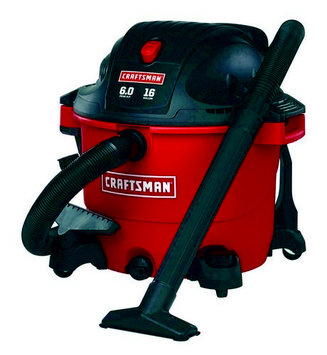 Craftsman 16 Gallon Wet/Dry Vacuum (00917761)