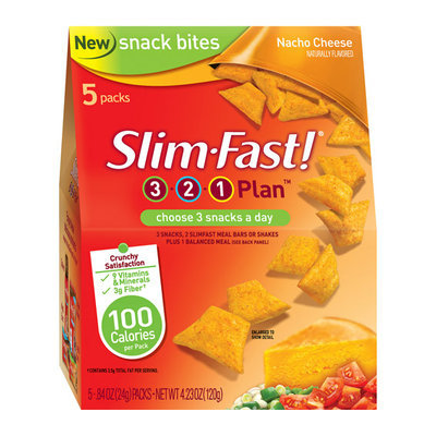 SlimFast Nacho Cheese Snack Bites