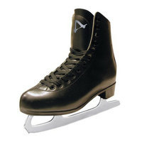 American Athletic Shoe Co Boys American Tricot Lined Figure Skate - Black (9)