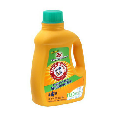 Arm Hammer Liquid Laundry Detergent For Sensitive Skin 68 Oz