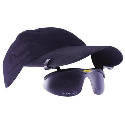 Bangerz HS0100BP Clip-On Flip-Up Sunwear Vision - Black Frame-Gray Polarized Lens