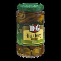 B&G Hot Cherry Peppers Sliced