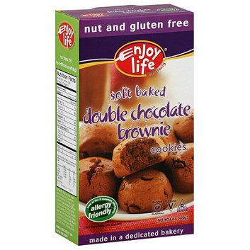 Enjoy Life Nut & Gluten Free Double Chocolate Brownie Cookies