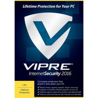 ThreatTrack VIS1LT2016ESD-0000US VIPRE Internet Security 2016, 1 PC, Lifetime (Email Delivery)
