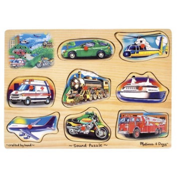 Melissa & Doug Sound Puzzle - Vehicle