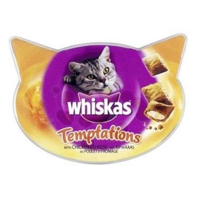 Whiskas Temptations Chicken & Cheese 60g
