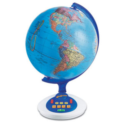 Educational Insights GeoSafari, Talking Globe, EI-8895 Ages 5+, 1 ea