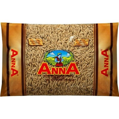 Anna Whole Grain Capellini #9 Angel Hair Pasta, 1 Pound Bags (Pack of 20)