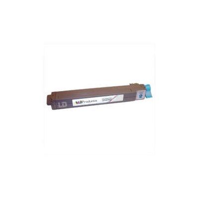 LD Okidata C9600/C9800 Series 'Type C7' Remanufactured 42918903 Cyan Laser Toner Cartridge