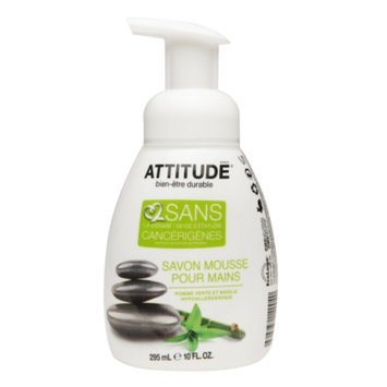 Attitude Foaming Hand soap, Green Apple & Basil, 10 fl oz