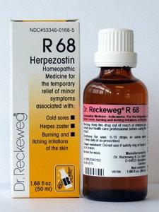 Herpezostin R68 50 ml by Dr. Reckeweg