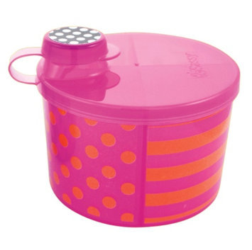 Sassy On-the-Go Formula Dispenser, Pink & Orange, 1 ea