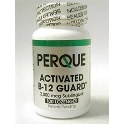 Holistic Health Perque Activated B-12 Guard™ (2000 mcg, 100 lozenges)