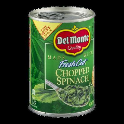 Del Monte Fresh Cut Chopped Spinach