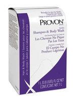 Provon Shampoo and Body Wash Refill (Floral Fragrance, 1000 ml, 8) [PK/8]. Model: 2134-08