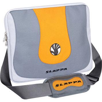 Slappa Aura Silver and Orange Laptop Sleeve (15.4 in.)