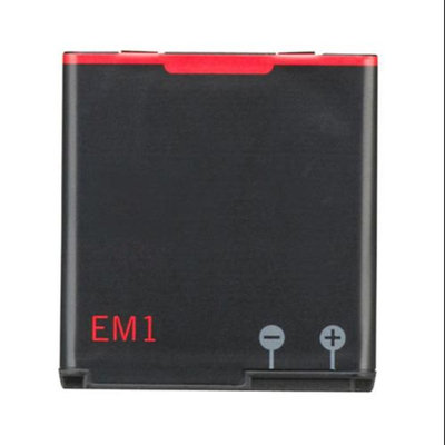 Replacement Battery For Blackberry EM-1 (Single Pack)